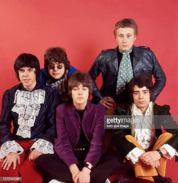 Keyboardist Lynton Guest, drummer Maurice Bacon, bassist Mick Jackson, singer Steve Ellis, and guitar player Rex Brayley, all of the British pop...