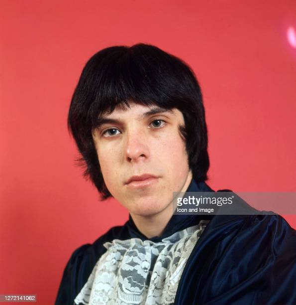 Keyboardist Lynton Guest, of the British pop group Love Affair, poses for a studio portrait in London, England, 1968.