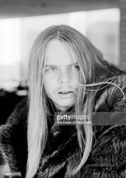 Keyboardist Rick Wakeman, a member of the English progressive rock group Yes, poses for a portrait in November, 1972 in Greensboro, North Carolina.