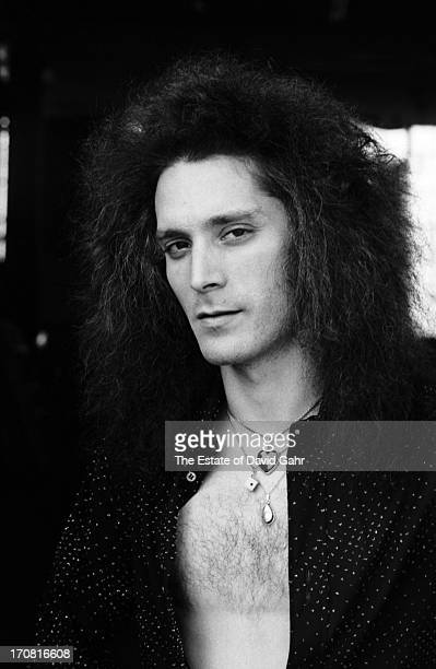 Keyboardist Seth Justman of the R and B influenced blues rock band The J Geils Band poses for a portrait on May 20 1977 in Boston Massachusetts