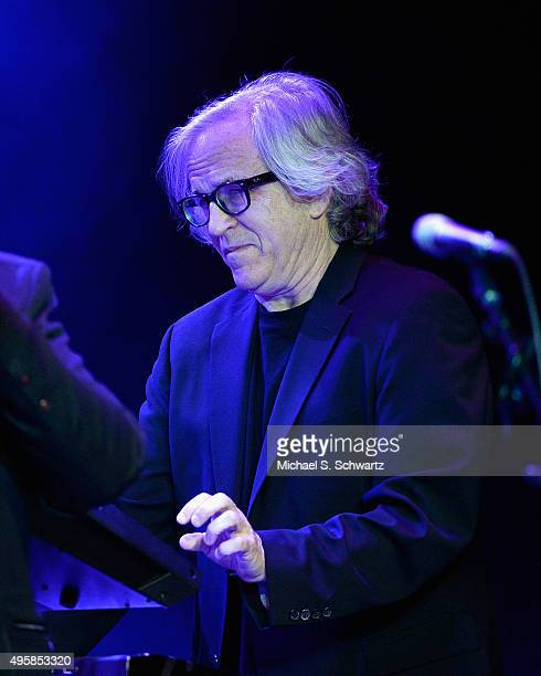 Keyboardist Steve Porcaro of Toto performs during his appearance at the weSpark Cancer Support Center Benefit Concert 'An Evening with Michael...