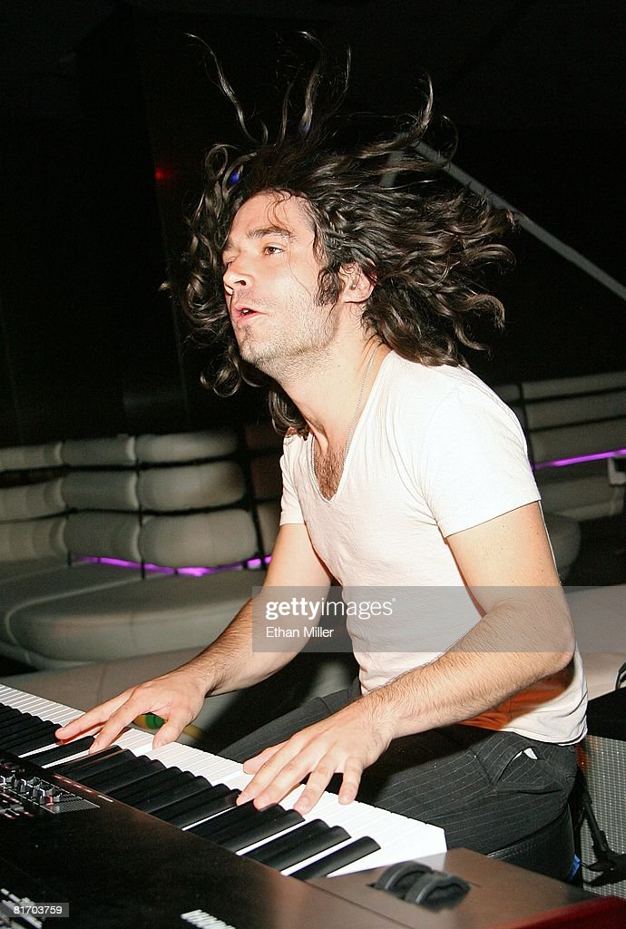 keyboardist tad moore of the band low vs diamond performs at a