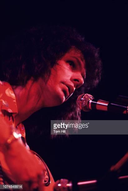 Keyboardistsinger Al Kooper performs at the Great Southeast Music Hall in Atlanta Georgia on July 12 1973