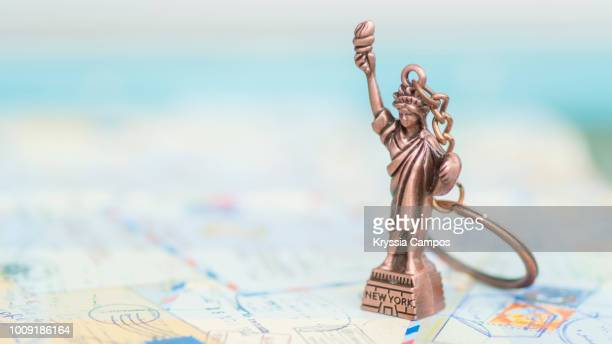 Keychain in the shape of Statue of Liberty