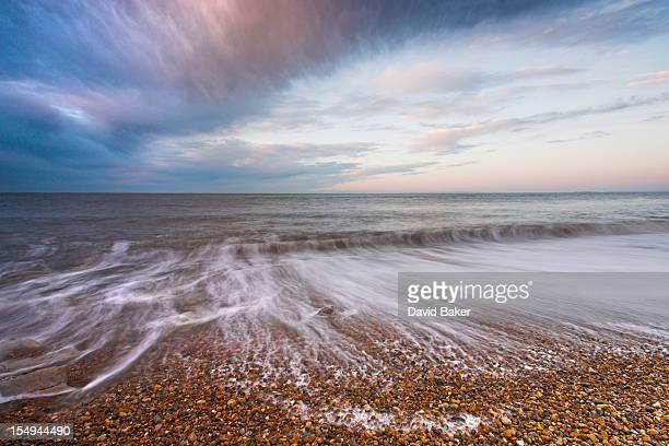 keyhaven dawn - keyhaven stock photos and pictures