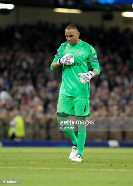 Keylor Navas during Champions League Finals match between Juventus v Real Madrid at Millennium Stadium of Cardiff on june 3 2017