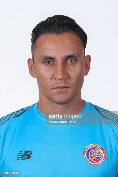 Keylor Navas of Costa Rica poses for a portrait during the official FIFA World Cup 2018 portrait session at the Hilton Saint Petersburg ExpoForum on...