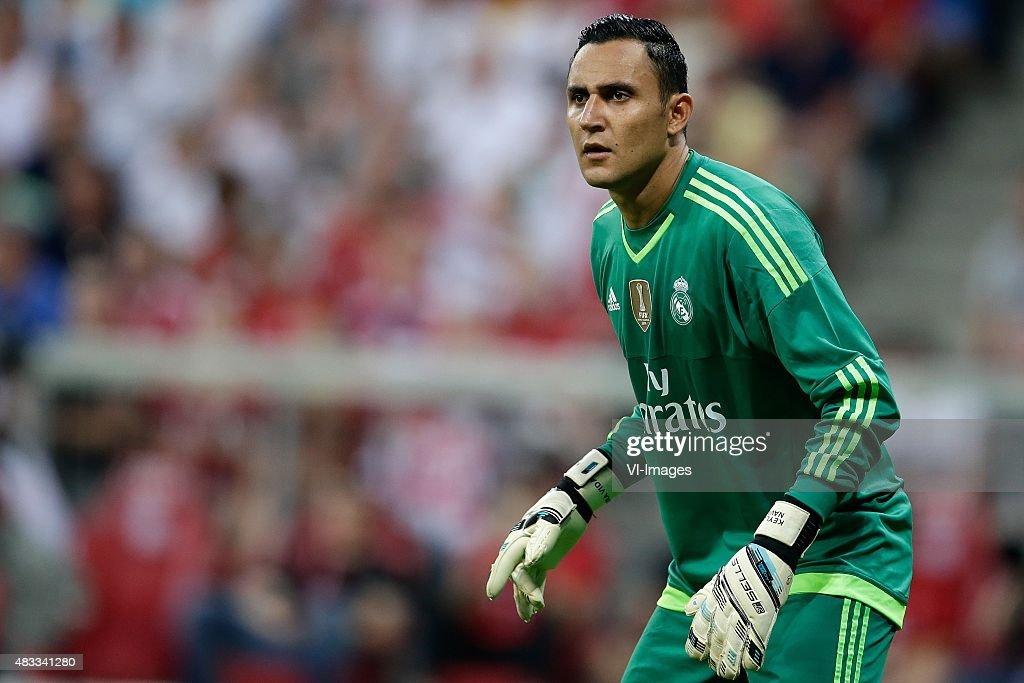 Keylor Navas of Real Madrid during the AUDI Cup final match ...