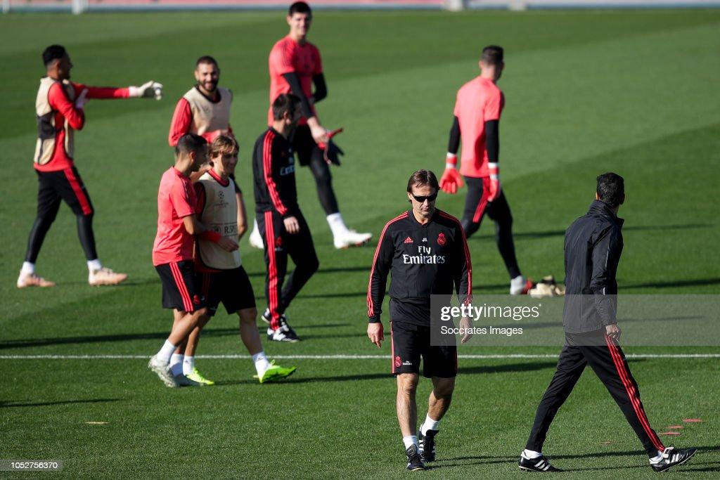 Training session Real Madrid : News Photo