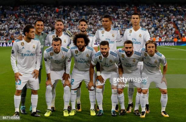 Keylor Navas of Real Madrid Sergio Ramosof Real Madrid Isco Alarcon of Real Madrid Casemiro of Real Madrid Cristiano Ronaldo of Real Madrid Matteo...