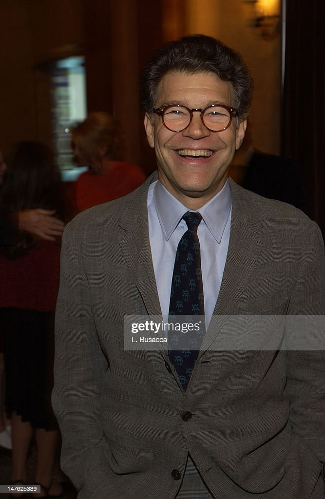 Keynote speaker Al Franken during Arista Records Co-Sponsors Benefit for PENCIL featuring Avril Lavigne and Blu Cantrell at Hammerstein Ballroom in New York City, New York, United States.