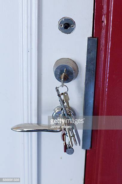 Keys in lock