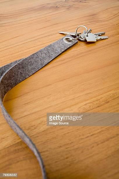 Schlüssel mit Schlüsselanhänger