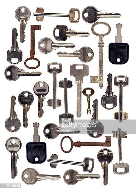 keys - house key stock photos and pictures