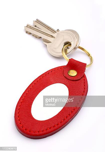 Keys with Leather Tag