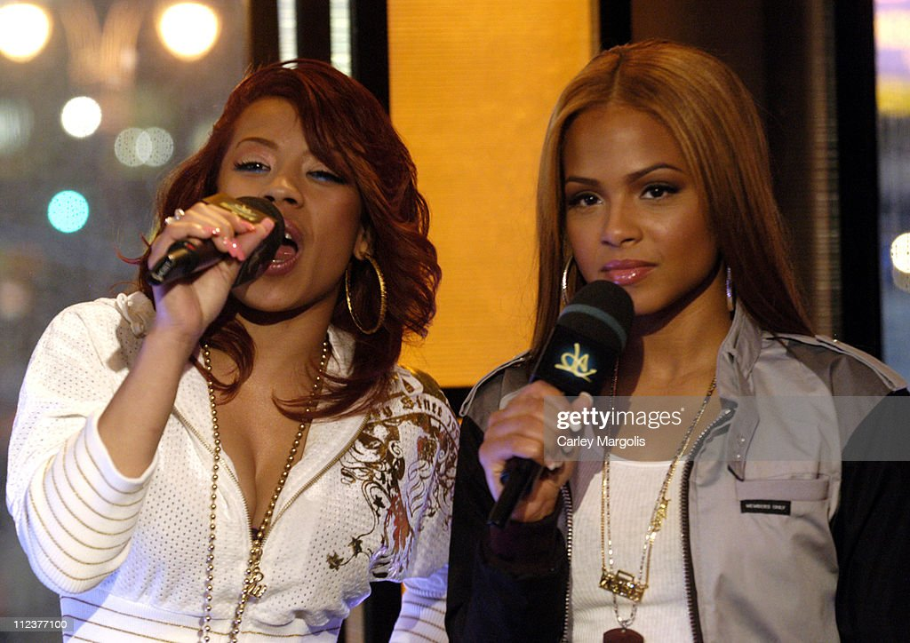 "LL Cool J, T.I., Christina Milian, Keyshia Cole, Nick Cannon and Young Jeezy Visit MTVs ""Direct Effect"" - April 3, 2006 : News Photo"