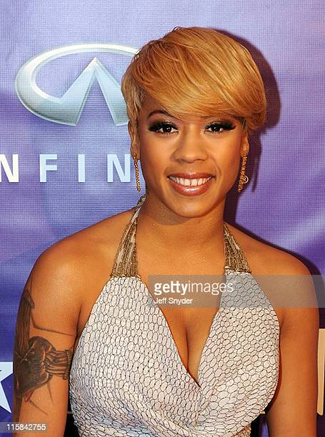 Keyshia Cole arrives at the BET Honors held at the Warner Theater on January 12 2008 in Washington DC