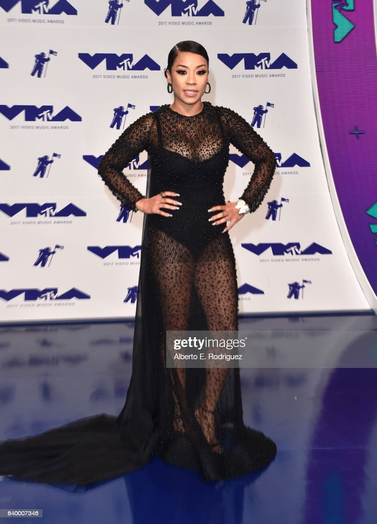 Keyshia Cole attends the 2017 MTV Video Music Awards at The Forum on August 27, 2017 in Inglewood, California.