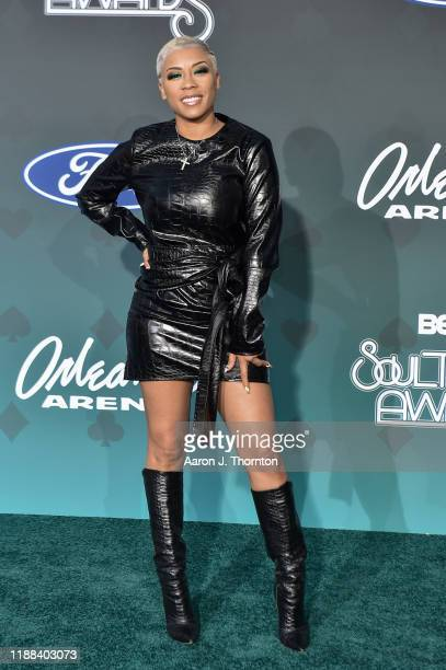Keyshia Cole attends the Soul Train Music Awards on November 17 2019 in Las Vegas Nevada