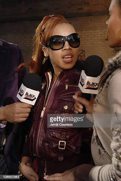 Keyshia Cole during 2006 BET Hip-Hop Awards - Black Carpet at Fox Theatre in Atlanta, Georgia, United States.