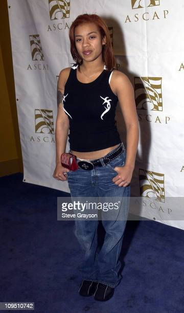 Keyshia Cole during ASCAP Rhythm and Soul VIP Reception in Honor of Their 2003 Soul Train Award Nominees at The Conga Room in Los Angeles California...