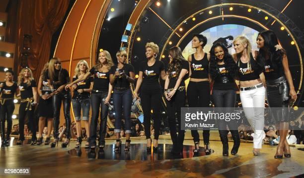 Keyshia Cole Leona Lewis Fergie Ciara Carrie Underwod Mariah Carey Beyonce Mary J Blige Beyonce Miley Cyrus Rihanna Ashanti Natasha Bedingfield...