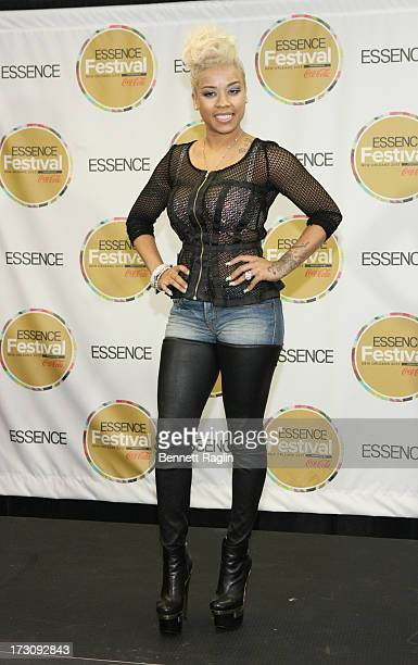Keyshia Coles performs during the 2013 Essence Festival at the MercedesBenz Superdome on July 6 2013 in New Orleans Louisiana