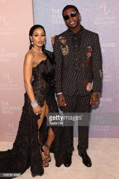 Keyshia Ka'Oir and Gucci Mane attend the 2018 Diamond Ball at Cipriani Wall Street on September 13 2018 in New York City