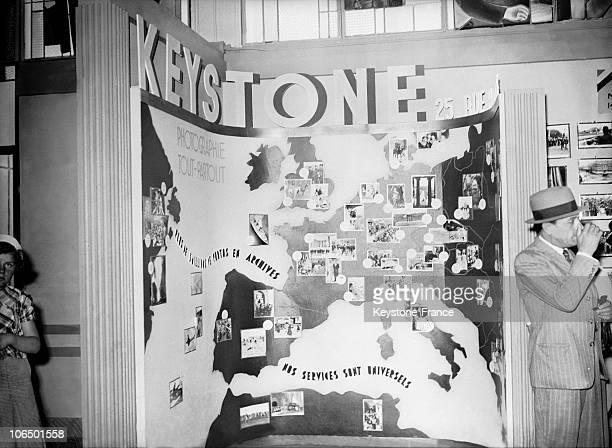 Keystone'S Stand During Paris International Exhibition September 1937