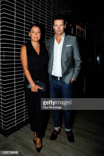 Keytt Lundqvist and Alex Lundqvist attend Columbia Pictures And The Cinema Society With Wild Turkey Longbranch Host The After Party For White Boy...