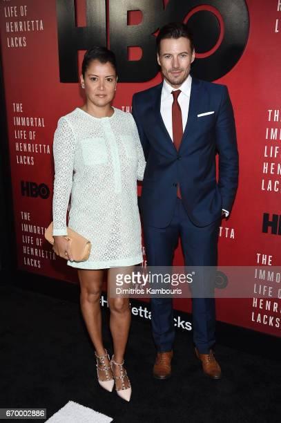 Keytt Lundqvist and Alex Lundqvist attend 'The Immortal Life of Henrietta Lacks' premiere at SVA Theater on April 18 2017 in New York City