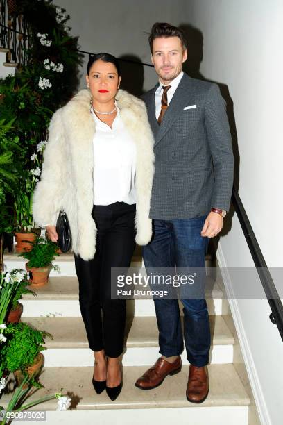 Keytt Lundqvist and Alex Lundqvist attend the New York premiere of 'Phantom Thread' After Party at Harold Pratt House on December 11 2017 in New York...