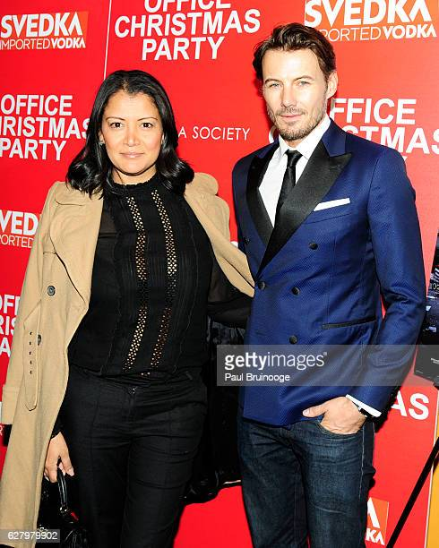 "Keytt Lundqvist and Alex Lundqvist attend the Paramount Pictures with Paramount Pictures with The Cinema Society & Svedka Host a Screening of ""Office..."