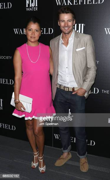 Keytt Lundqvist and Alex Lundqvist attend the screening of IFC Films' 'Wakefield' hosted by The Cinema Society at Landmark Sunshine Cinema on May 18...