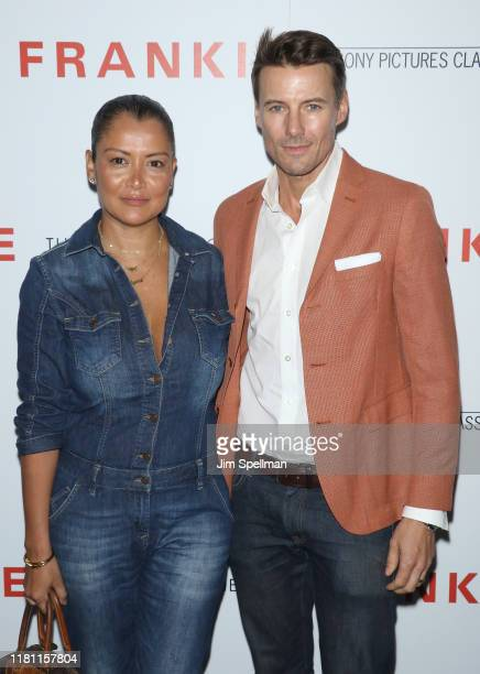 """Keytt Lundqvist and Alex Lundqvist attend the special screening of """"Frankie"""" hosted by Sony Pictures Classics and The Cinema Society at Metrograph on..."""