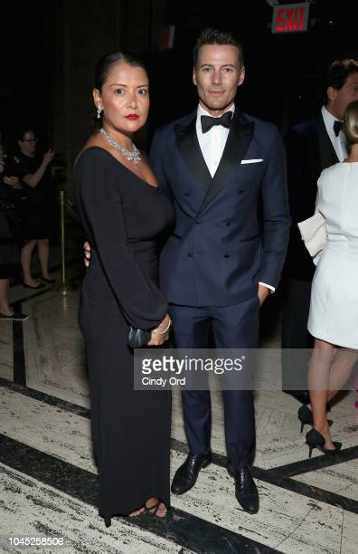 Keytt Lundqvist and Alex Lundqvist attend the World Childhood Foundation USA 2018 Thank You Gala at Cipriani Downtown on October 3 2018 in New York...