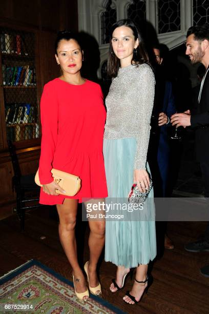 Keytt Lundqvist and Allie Rizzo attend Amazon Studios Bleecker Street Host the After Party for 'The Lost City of Z' at The Explorer's Club on April...