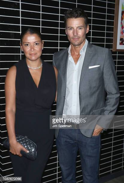 Keytt Lundqvist and Lundqvist attend the after party for New York special screening of 'White Boy Rick' hosted by Columbia Pictures and Studio 8 host...