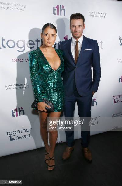 Keytt Lundqvist and model Alex Lundqvist attends 2018 Together1heart New York Gala at TAO Downtown on October 1 2018 in New York City