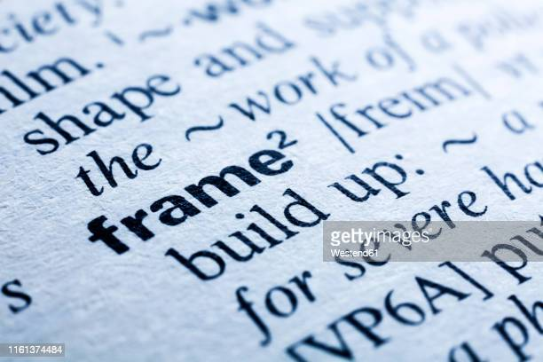 keyword in a dictionary, frame - dictionary stock pictures, royalty-free photos & images