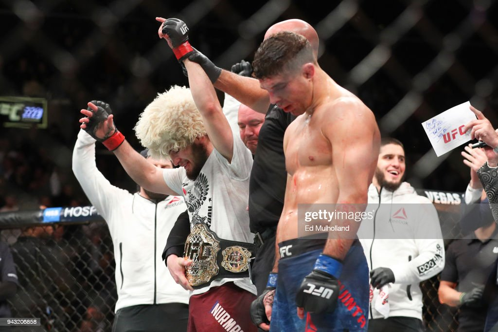 UFC 223: Nurmagomedov v Iaquinta : News Photo