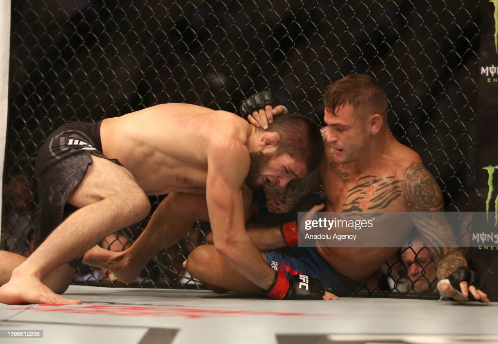 Khabib Nurmagomedov v Dustin Poirier: UFC Lightweight Championship : News Photo