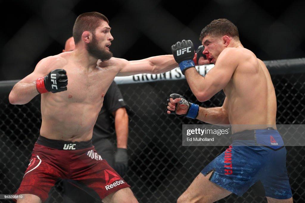 UFC 223: Nurmagomedov v Iaquinta : News Photo