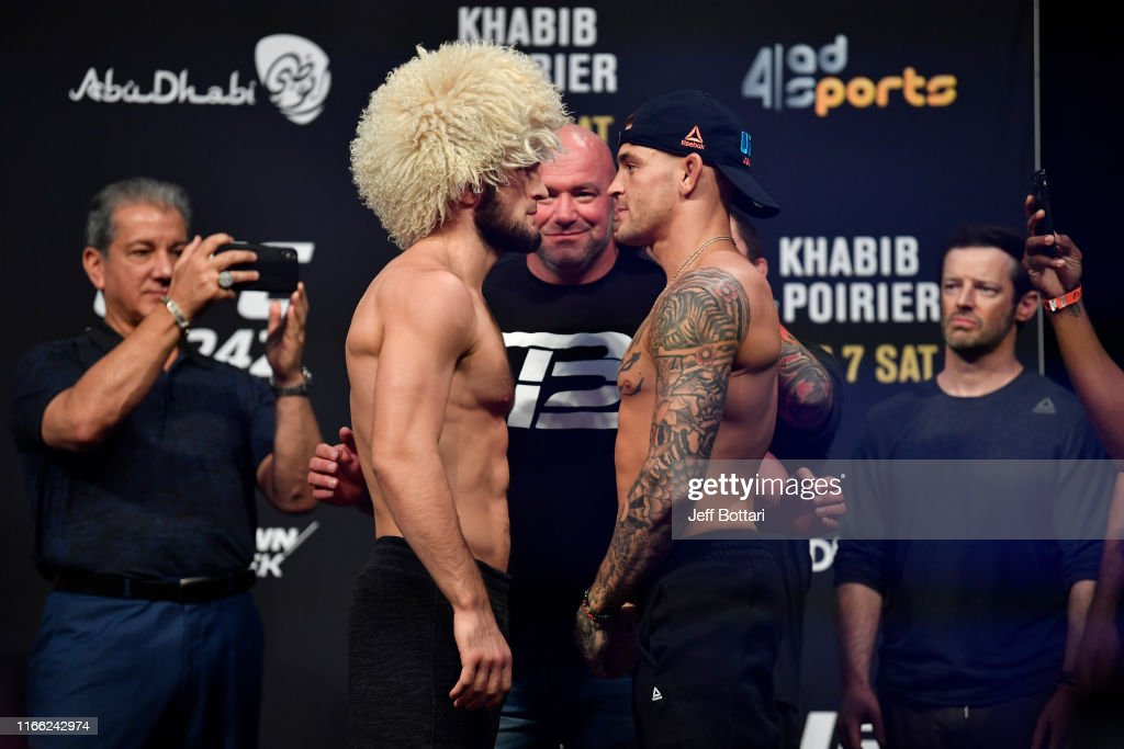 UFC 242: Weigh-ins : News Photo