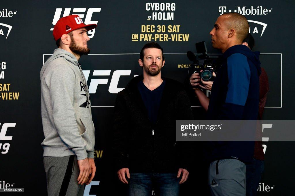 UFC 219: Ultimate Media Day