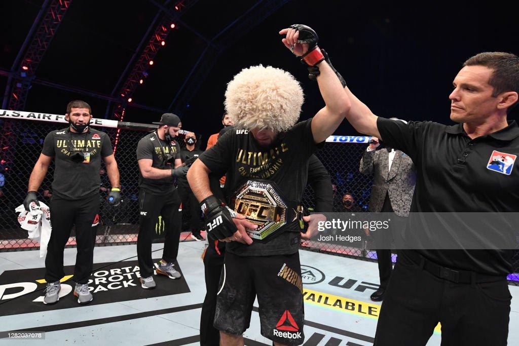 UFC 254: Khabib v Gaethje : News Photo