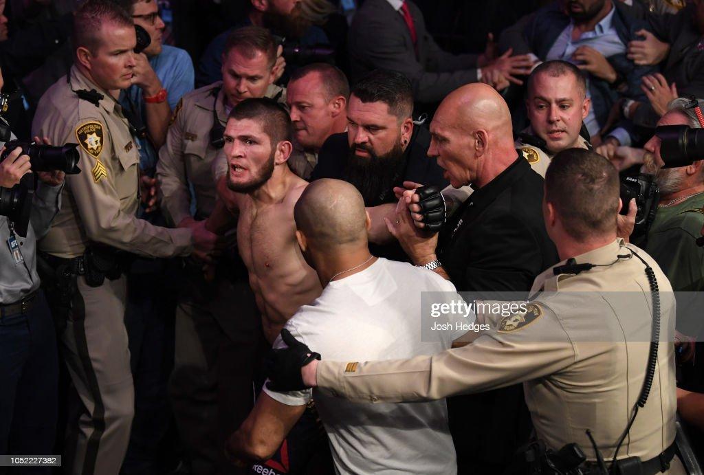 UFC 229: Khabib v McGregor : News Photo
