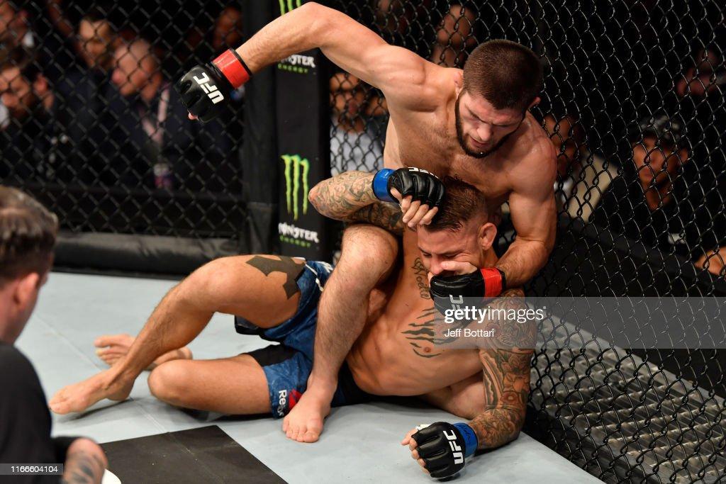 UFC 242: Khabib v Poirier : News Photo
