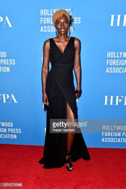 Khadija Neumann attends the Hollywood Foreign Press Association's Grants Banquet at The Beverly Hilton Hotel on August 9 2018 in Beverly Hills...