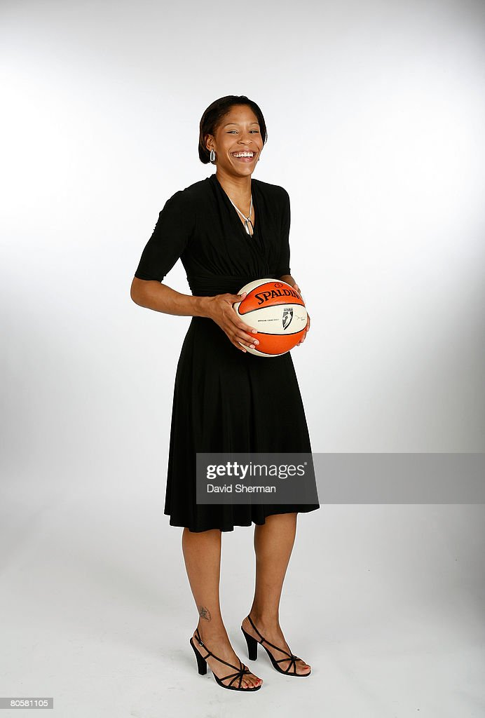 Khadijah Whittington from Western Kentucky, the number 26 (second round) overall pick by the Indiana Fever, poses for a portrait during the 2008 WNBA Draft on April 9, 2008 at the Innisbrook Resort & Golf Club in Palm Harbor, Florida.
